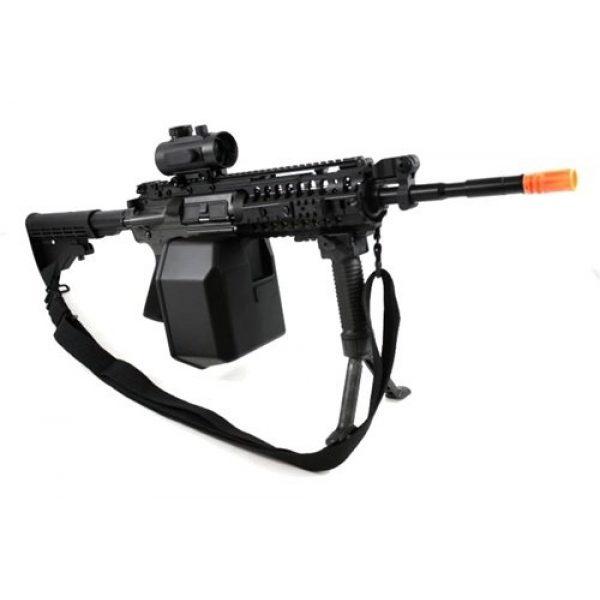 Jing Gong (JG) Airsoft Rifle 2 445 fps JG full metal gearbox m4 s-system custom aeg gunner - newest enhanced model(Airsoft Gun)