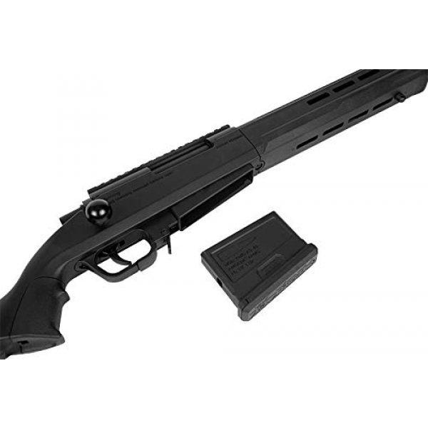 Elite Force Airsoft Rifle 3 Elite Force Amoeba AS-02 Striker Rifle 6mm BB Sniper Rifle Airsoft Gun, Black