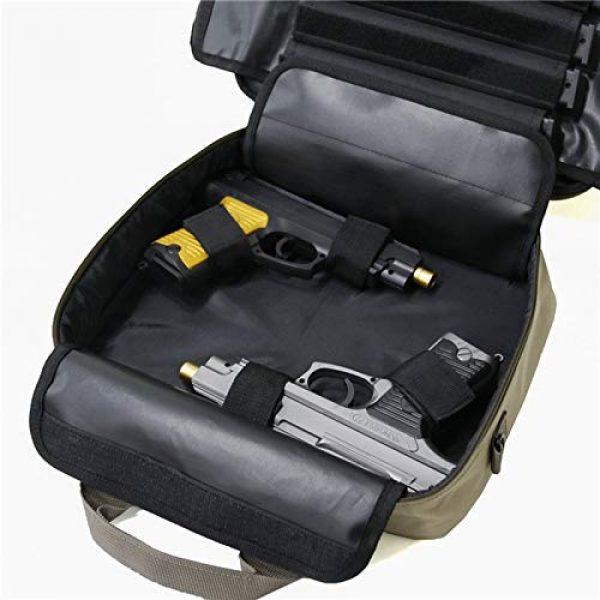 HSIDS Pistol Case 7 HSIDS Single Pistol Soft Tactical Case