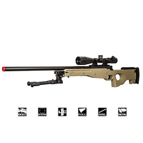 Well Airsoft Rifle 1 Well Airgunplace Type 96 AWP Bolt Action Airsoft Tan Color Sniper Rifle