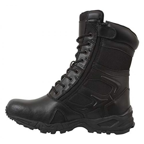 Rothco Combat Boot 1 Forced Entry Deployment Boot with Side Zipper