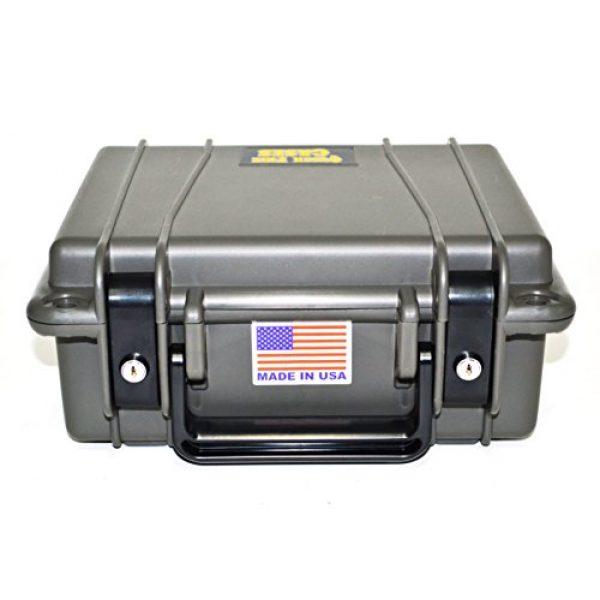 Quick Fire Cases Pistol Case 2 Quick Fire Cases QF340 MultiFit Pistol Case