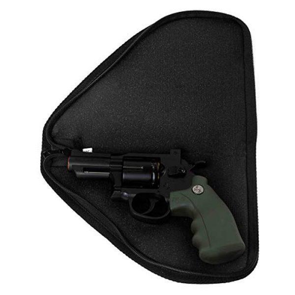 XLzhujun Pistol Case 4 Soft Pistol Cases Handgun Case for Shooting Training Range Sports and Pistol Storage 10.10x6.69x1in