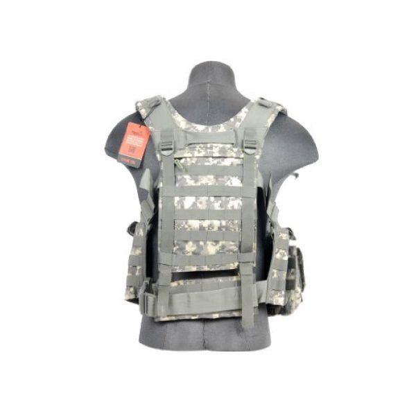 Lancer Tactical Airsoft Tactical Vest 3 Lancer Tactical CA-306A M4 Chest Harness in ACU