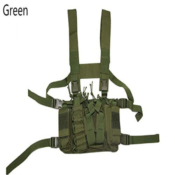BGJ Airsoft Tactical Vest 3 BGJ Military Equipment Tactical Vest Airsoft Paintball Carrier Strike Chaleco Chest rig Pack Pouch Light Weight Heavy Duty Vest
