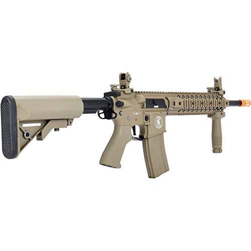 Lancer Tactical  3 Lancer Tactical LT-12 ProLine Series M4 EVO Airsoft AEG Rifle Low FPS TAN