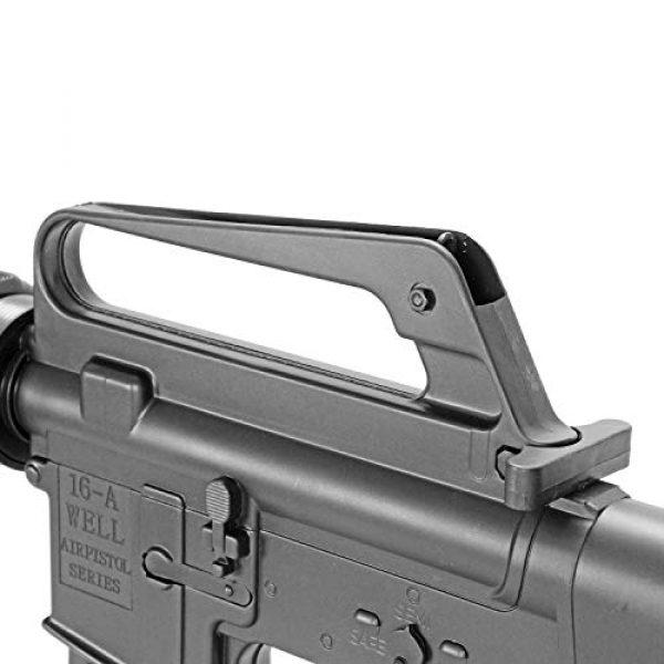BBTac Airsoft Rifle 5 BBTac M16-A1 Vietnam Model Spring Action Assault Rifle, Black (BT-M16A1_(a))