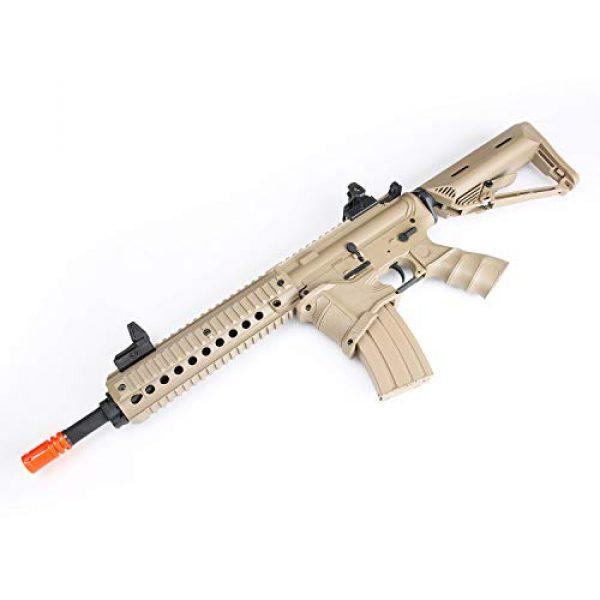 BULLDOG AIRSOFT Airsoft Rifle 2 Bulldog ST Delta QD Airsoft Electric AEG Rifle - Tan