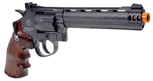 WG  3 wg model-704 6 revolver CO2 nbb w/nylon rotary drum & barrel(Airsoft Gun)