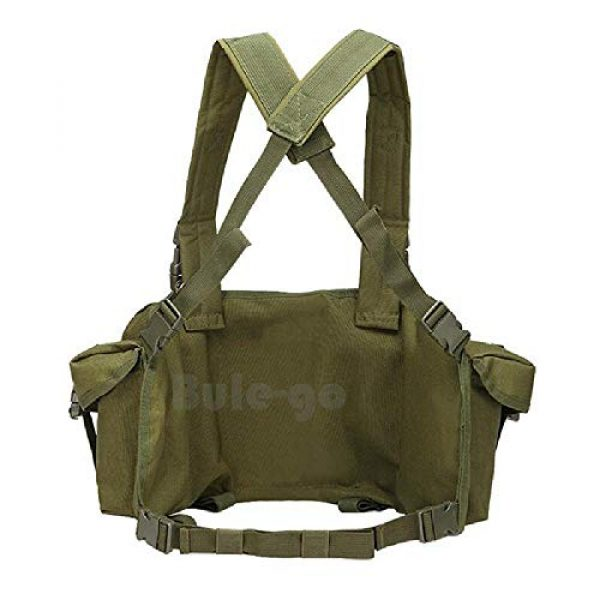 BGJ Airsoft Tactical Vest 5 BGJ Tactical Vest Airsoft Ammo Chest Rig AK 47 Magazine Carrier Camouflage Combat Vest Tactical Military Army Equipment