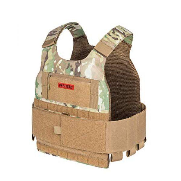 OneTigris Airsoft Tactical Vest 6 OneTigris Multicam Airsoft Vest & Low Profile Tactical Vest