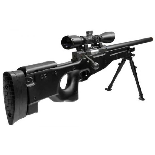 UTG Airsoft Rifle 2 UTG Type 96 Black Airsoft Sniper Rifle with Scope Airsoft Gun