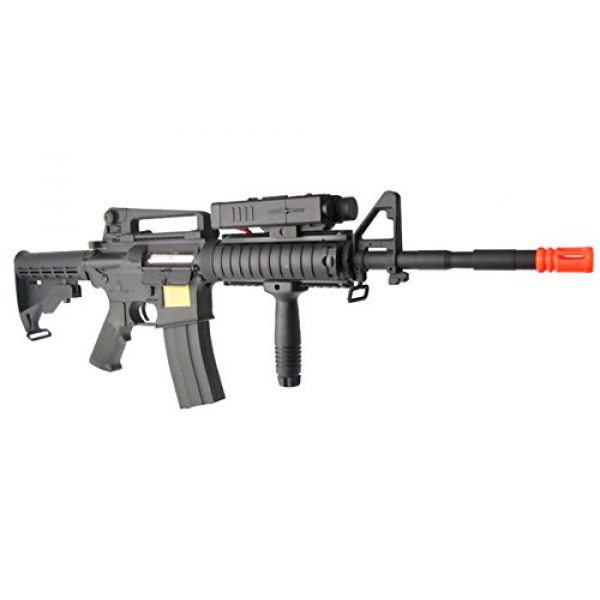 P-Force Airsoft Rifle 3 p-force 032 m4ris full metal electric w/battery & charger (metal gb)(Airsoft Gun)
