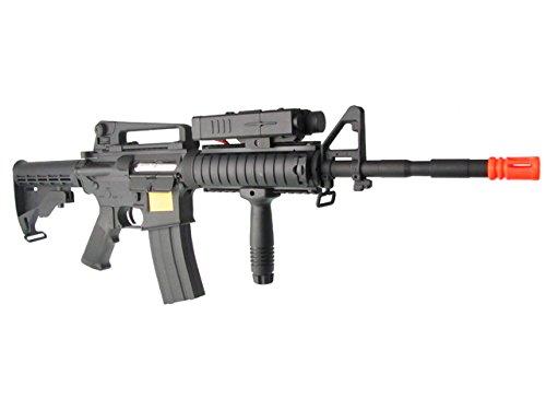 P-Force  3 p-force 032 m4ris full metal electric w/battery & charger (metal gb)(Airsoft Gun)