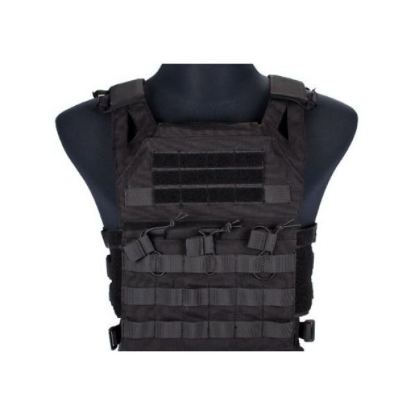 enmu pancho Airsoft Tactical Vest 1 Professional Airsoft Vest made with Durable nylon fabric - Black
