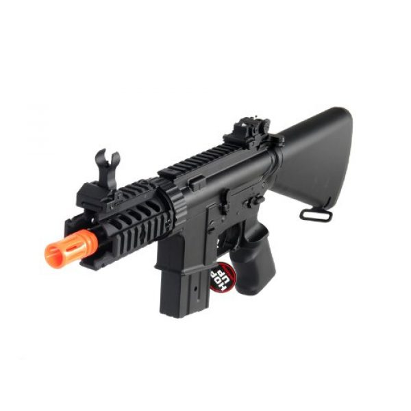MetalTac Airsoft Rifle 1 MetalTac Electric Airsoft Gun M4 Stubby CQB JG-F6625 with Metal Gearbox Version 2, Full Auto AEG, Upgraded Powerful Spring 380 Fps with .20g BBS