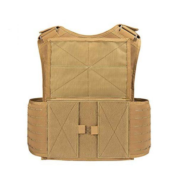 WEQ Airsoft Tactical Vest 4 WEQ CS Tactical Vest Modular Vest Outdoor Sports Camouflage Vest Combat Training Vest
