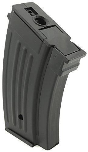 SportPro  2 SportPro CYMA 220 Round Metal Stubby High Capacity Magazine for AEG AK47 AK74 3 Pack Airsoft - Black