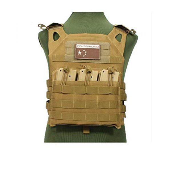 HWZ Airsoft Tactical Vest 4 HWZ Tactical Vest Combat Vest Outdoor Multi-Function CS Field EVA Thick Guard Vest