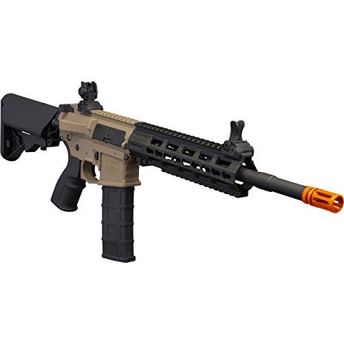 Tippmann Airsoft  2 Tippmann Tactical Commando AEG Carbine 14.5in Airsoft Rifle Tan