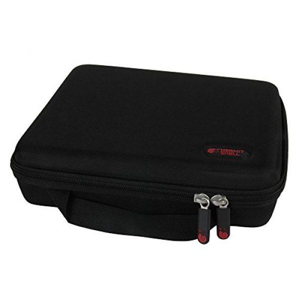 Hermitshell Pistol Case 2 Hermitshell Hard Travel Case Fits Pistol Handgun Revolver up to 8-Inch