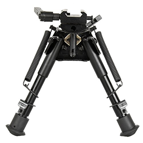 Gazelle Trading  1 Gazelle Trading 8-11 Inches Tactical Rifle Bipod with Pivot Lock for Shooting Quick Release Monopods