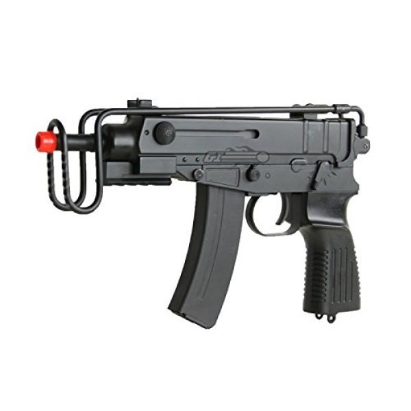 Well Airsoft Rifle 2 Well R2 Skorpion AEP Airsoft SMG (Black)