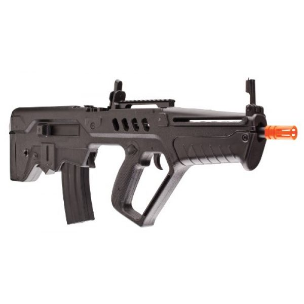 Elite Force Airsoft Rifle 4 Elite Force IWI Tavor AEG 6mm BB Rifle Airsoft Gun, Black, Tavor 21 (Competition Series), One Size (2278050)