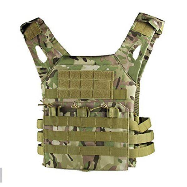 No! Airsoft Tactical Vest 1 No! JPC Vest Lightweight Tactical Vest Vest Multifunctional Outdoor Field CS Army Fan Vest