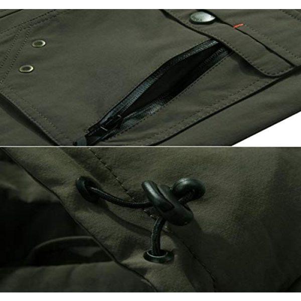 DAFREW Airsoft Tactical Vest 7 DAFREW Youth Vest Men's Casual Vest Quick-Drying mesh Vest Male Outdoor Hooded Vest (Color : Royal Blue, Size : XL)