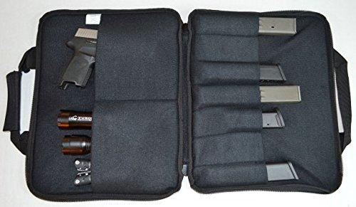 Yukon Tactical Pistol Case 3 Yukon Tactical Outfitters MG-PC0011 Big Bore Pistol Case, Black