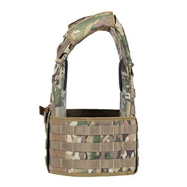 VISMIX Airsoft Tactical Vest 5 VISMIX Tactical Vest Adjustable Molle Military Vest for Men