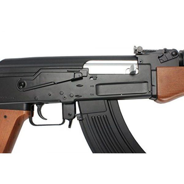 BBTac Airsoft Rifle 3 BBTac ak airsoft gun powerful spring full size assault rifle machine gun, large magzine, with BBTac warranty(Airsoft Gun)