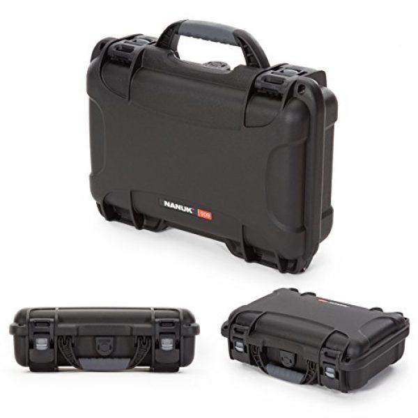 Nanuk Pistol Case 3 Nanuk 909 2UP Waterproof Hard Case w/Custom Foam Insert for Glock Pistols