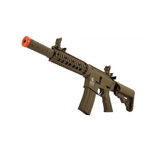 Lancer Tactical Airsoft Rifle 4 Lancer Tactical Airsoft M4 SD GEN 2 Polymer AEG - TAN
