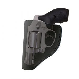 PG Airsoft Gun Holster 1 PG Ultimate Leather IWB Holster for Right Hand Fits Most J Frame .38 Special Revolvers Ruger LCR Smith Wesson Body Guard Taurus
