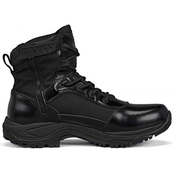 """Belleville Tactical Research TR Combat Boot 2 Belleville Tactical Research TR Men's Class-A TR906Z 6"""" Hot Weather High Shine Side-Zip Boot"""