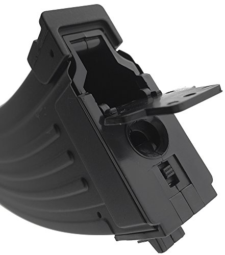 SportPro  5 SportPro 500 Round Metal High Capacity Magazine for AEG AK47 AK74 Airsoft - Black