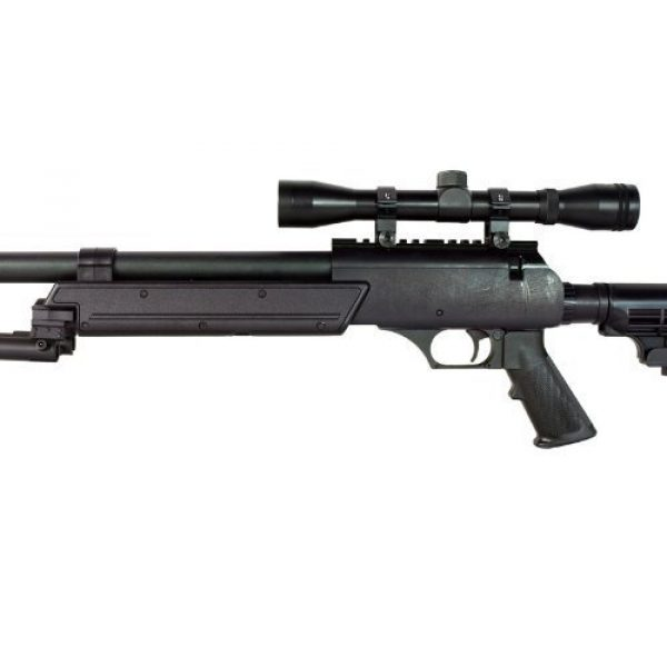 Well Airsoft Rifle 3 Well MB06 SR-2 Tactical Airsoft Sniper Rifle w/ 3-9x40 Scope & Bipod Bolt Action Airsoft Sniper
