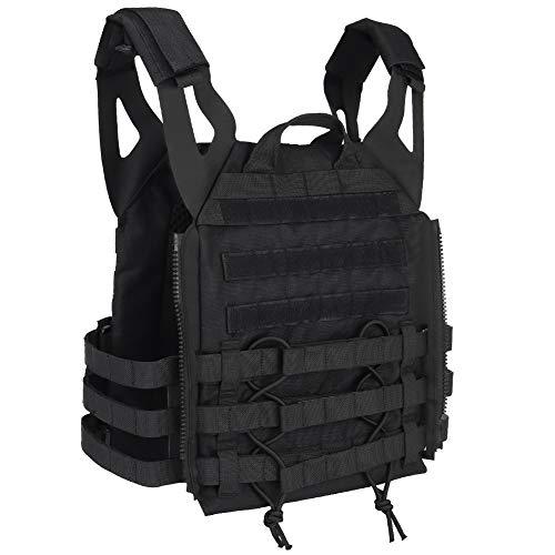 DETECH Airsoft Tactical Vest 3 DETECH Molle Adaptive Vest JPC Tactical Hunting Airsoft Vest Multicam Black