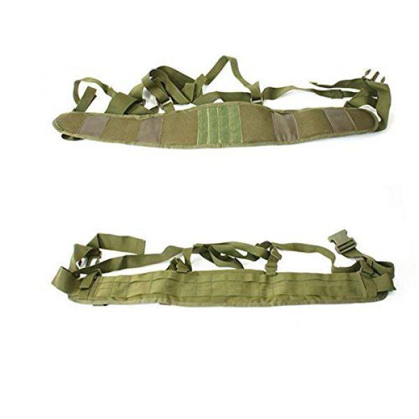 HWZ Airsoft Tactical Vest 5 HWZ Molle Portable Girdle Tactical Belt Nylon Outdoor Multifunctional Tactical Belt Vest