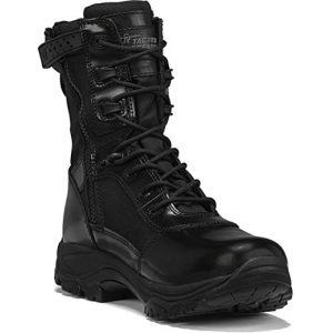 """Belleville Tactical Research TR Combat Boot 1 Belleville Tactical Research TR Men's Class-A TR908Z 8"""" Hot Weather High Shine Side-Zip Boot"""