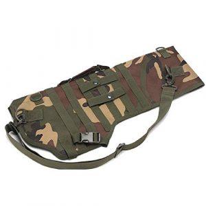BGJ Rifle Case 1 Tactical 73cm Rifle Shotgun Scabbard Bag Backpack Military Gun Carry Case Holster Airsoft Assault Long Knife Hunting Bag Pack