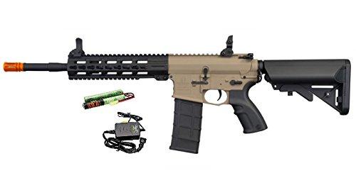"Hsa  1 Hsa Tippmann Commando 14.5"" 6mm AEG Carbine (Battery & Charger) - TAN"