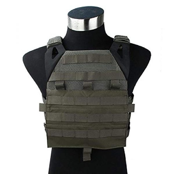 BGJ Airsoft Tactical Vest 1 TMC Tactical Vest Jump Plate Carrier JPC 2.0 Maritime Ver Ranger Green MOLLE Body Armor Molle Vest Hunting Airsoft Tactical Gear