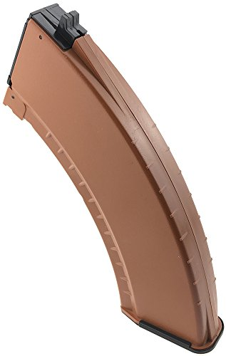 SportPro  4 SportPro 550 Round Polymer AKM Style High Capacity Magazine for AEG AK47 AK74 Airsoft - Brown