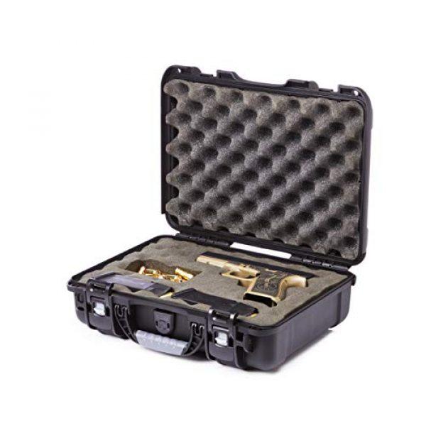 Levy's Outdoor Pistol Case 1 Levy's Outdoor Universal Waterproof and Dustproof Single Pistol Hard Case; Adjustable Foam Interior (GU-1309-03-UNV-GUN)