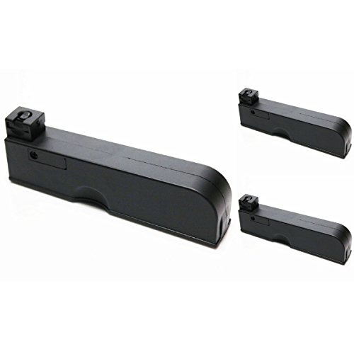 Airsoft Shopping Mall  1 Airsoft Shooting Gear 3pcs Pack CYMA 55rd Magazine for CYMA CM701 Airsoft AEG Black