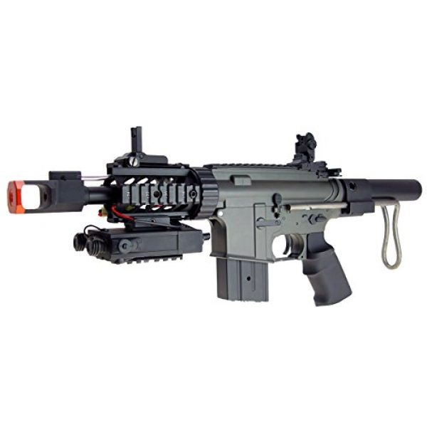 Jing Gong (JG) Airsoft Rifle 2 JG aeg-m4cqb semi/full auto nicads/charger incl.-metal g-box(Airsoft Gun)
