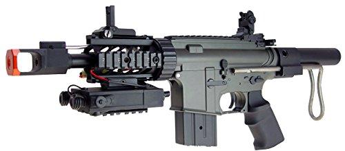 Jing Gong (JG)  2 JG aeg-m4cqb semi/full auto nicads/charger incl.-metal g-box(Airsoft Gun)
